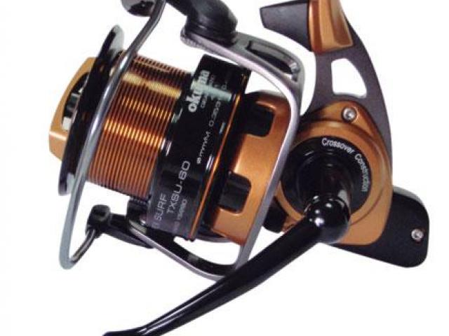 MULINELLO CARPFISHING OKUMA TRIO REX SURF IN OFFERTA A 119.00€
